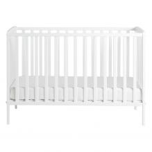 Tiny Republic Pixi barneseng 120x60 cm - Hvit