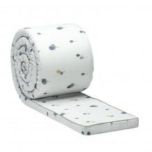 Tiny Republic sengekant med ballong mønster - Hvit