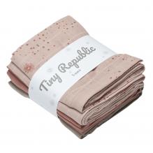 Tiny Republic tøybleie - Rose combi