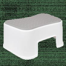 Tiny Republic Basic krakk - Hvit med grå