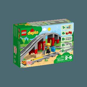 LEGO DUPLO Togovergang og spor - 10872