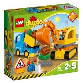 LEGO DUPLO - Lastebil og Gravemaskin - 10812