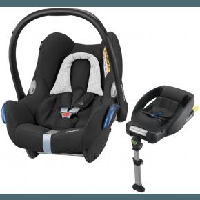 Maxi-Cosi CabrioFix sett - Black Grid Bilstol