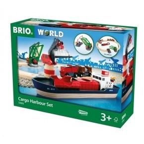 BRIO World Togbane - Havnesett - 33061