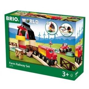 BRIO World - Togbane - Bondegård på Landet-Sett - 33719