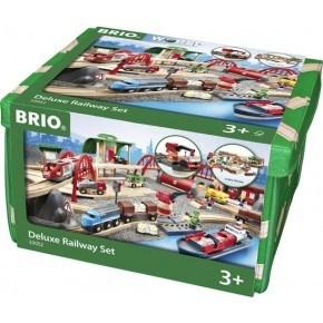 BRIO World - Deluxe Togsett - 33052