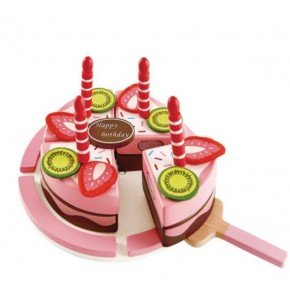 Hape - Lekemat - Double Flavored Birthday Cake