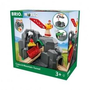 BRIO Kran- og Fjelltunnell - 33889