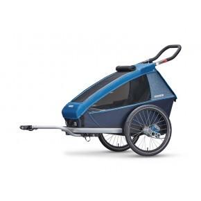 CROOZER Kid Plus 1 2019 sykkelhenger - Blå