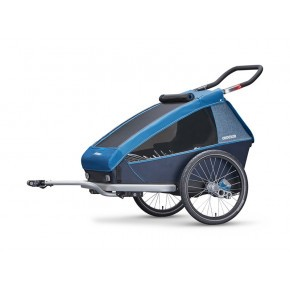 CROOZER Kid Plus 2 2019 sykkelhenger - Blå