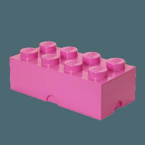 LEGO Oppbevaringsboks 8 - Pink