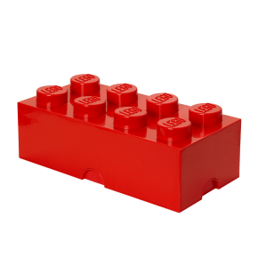 LEGO Oppbevaringsboks 8 - Rød