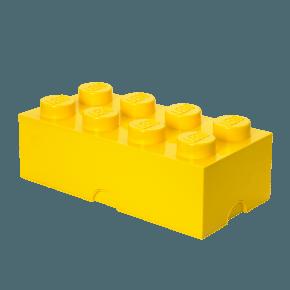 LEGO Oppbevaringsboks 8 - Gul