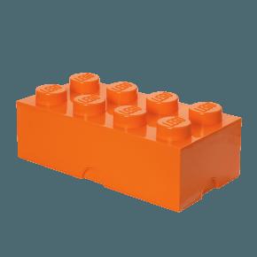 LEGO Oppbevaringsboks 8 - Oransje