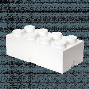 LEGO Oppbevaringsboks 8 - Hvit