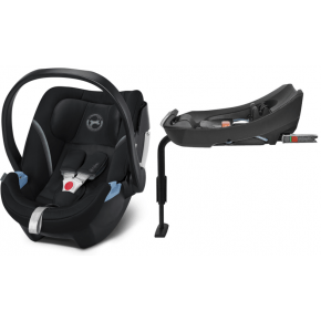 Cybex Aton 5 inkl. base - Deep Black 2020