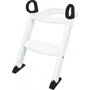 BabyDan Toalettsete med trapp - Hvit