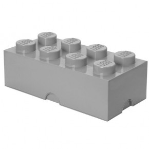 LEGO Oppbevaringsboks 8 - Grå