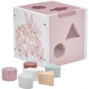 Kids Concept Edvin Putt-i-Boks - Rosa