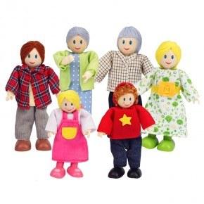 Hape - Dukkefamilie - Kaukasisk