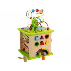 Hape - Country Critters Play Cube - Multileketøy