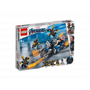 LEGO Super Heroes Captain America Outrider angrep - 76123