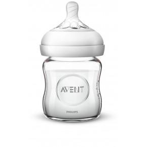 PHILIPS AVENT Naturlig 2,0 glass babyflaske - 120 ml