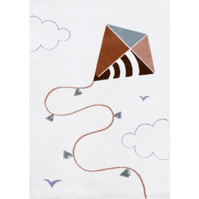 AFK Living Kite gulvteppe 100x150 cm - Flerfarget