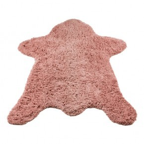 KidsDepot Bear, carpet 150 x 110cm pink Tepper