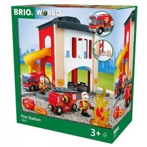 BRIO World - Brannstasjon - 33833