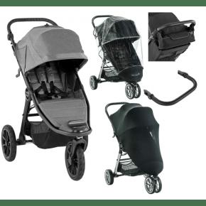 Baby Jogger City Elite 2 Slate + pakke 4