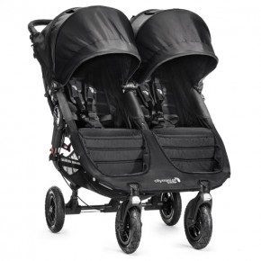 Baby Jogger City Mini GT Double - Svart Klappvogn