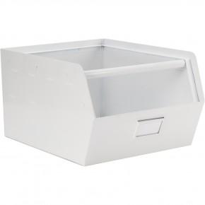 KidsDepot Orginal, metal storagebox, Hvit Oppbevaringsboks