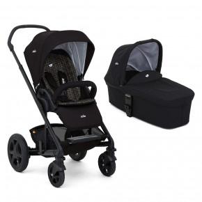 Joie Chrome DLX kombivogn med babybag - Svart