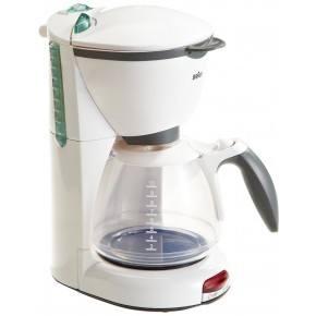 Klein Braun Kaffemaskin - Hvit