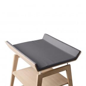 LEANDER deksel til Linea stellebord - kjølig grått