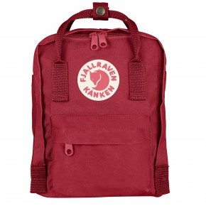 Fjällräven Mini Kånken Ryggsekk - deep red