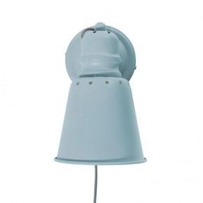 Sebra Metall Vegglampe - Blå