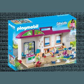 Playmobil City Life Mobil Dyrlegeklinikk - 70146
