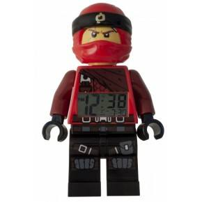 LEGO Ninjago Vekkerklokke Figur - Kai 2018