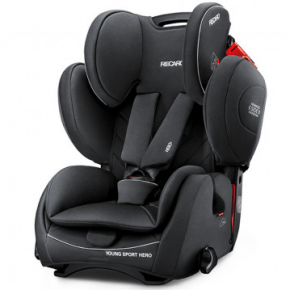 RECARO Young Sport Hero Bilstol - Performance Black