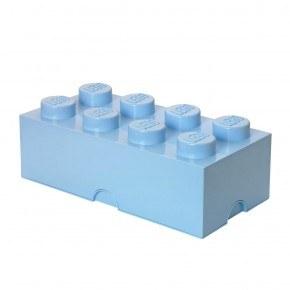 LEGO Oppbevaringsboks 8 - Lyseblå