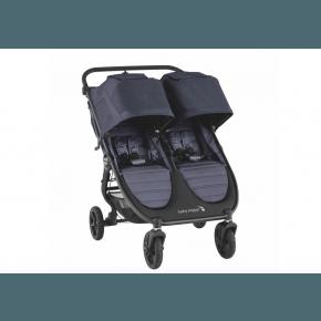 Baby Jogger City Mini GT 2 Double Søskenvogn - Carbon 2020