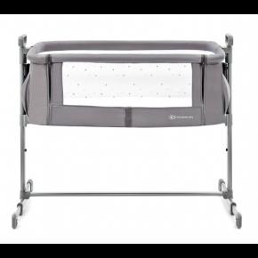 Kinderkraft NESTE bedside crib - gray