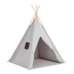 Tiny Republic Tipi Leketelt - Light Grey