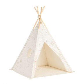 Tiny Republic Tipi Leketelt - Hvitt