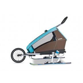 CROOZER Ski adaptersett til sykkelhenger