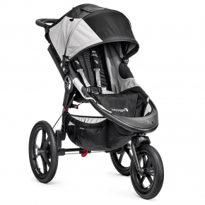 Baby Jogger Summit X3 Løpevogn - Svart/Grå Klappvogn