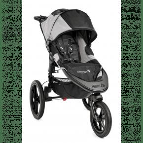 Baby Jogger Summit X3 Sportsvogn - Svart/Grå Klappvogn