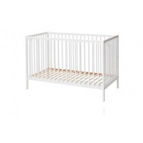 BabyDan Comfort sprinkelseng 60x120 cm - Hvit